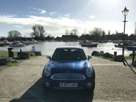 2007 Mini 1.6 Cooper 16v 3 Door Hatchback Blue