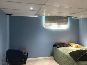 One basement room for rent in Kitchener , $430/month.