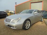 2005 55 MERCEDES-BENZ CLS CLASS 3.0 CLS320 CDI 4D AUTO 222 BHP DIESEL