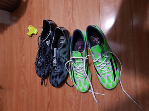 SELLING 2 PAIRS OF ADIDAS SOCCER SHOES FOR CHEAP