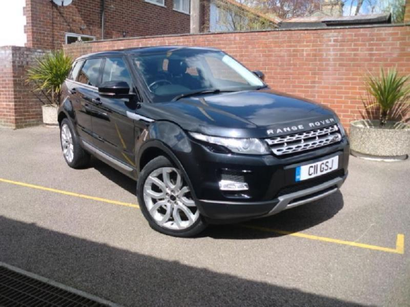 Range Rover Evoque 2.2SD4 Prestige Auto 5 Door SUV Black 2011