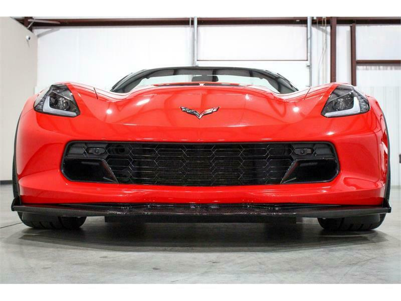 2016 Red Chevrolet Corvette Z06 2LZ | C7 Corvette Photo 8