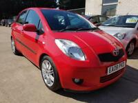 2008 TOYOTA YARIS 1.4 D-4D SR 5 DOOR DIESEL MANUAL FULL HISTORY