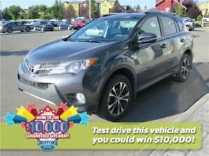 2015 Toyota RAV4 XLE  AWD SUV with clean Carproof