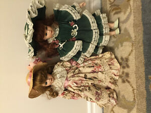 Alberon collectible porcelain dolls