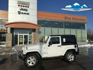 2013 Jeep Wrangler Sahara  ACCIDENT FREE, SAT RADIO, GPS!