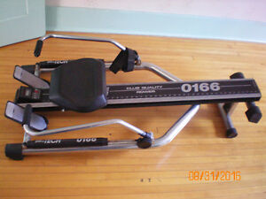 storable rowing machine