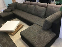 JOSY FURNITURE Modern Sectional Link Couch Sofa Hideaway Bed