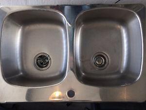 Évier (lavabo) double