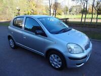 TOYOTA YARIS 1.0 VVT-i T3 - 5 DOOR - 2004 - SLIVER ** LOW MILES **