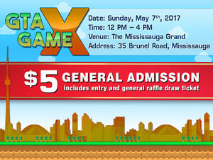 Thousands of Retro Games for Sale at GTA Game X - May 7