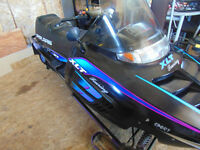1995 polaris xlt touring with papers $650 may trade 4wheeler!
