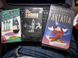 VHS tapes - 2 Factory Sealed