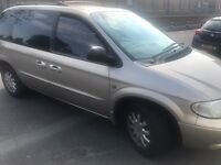 2003 03reg Chrysler Voyager 2.5 Petrol Manual 7 Seater