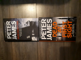 PETER JAMES HARDBACK BOOKS