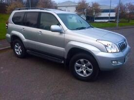 2009 Toyota Land Cruiser 3.0 D-4D LC4 SUV 5dr Diesel Automatic (238 g/km,