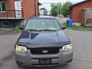 Ford escape full option vente rapide