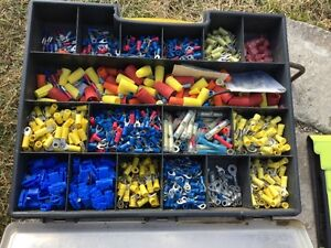 Box Full of Electrical Crimps