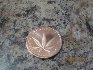 WEED 2011 Copper Coin