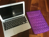 """macbook air 11"""" with office,illustrator, photoshop"""