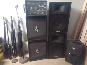 Complete sound/pa system