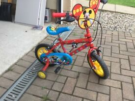 "12"" Mickey Mouse Bike"