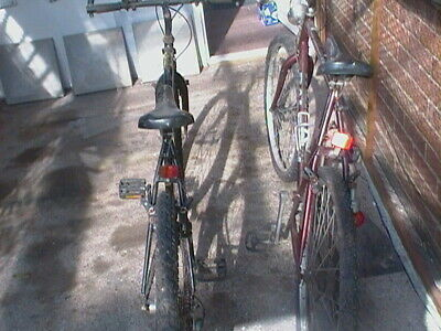 RALEIGH BICYCLES FOR SALE   TWO PUSH BIKES IN NEED OF TLC   SPARES OR REPAIR