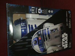 R2D2  with box.App enabled moving robot with sound