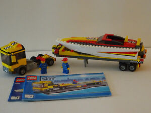 Lego City Power Boat Transporter #4643