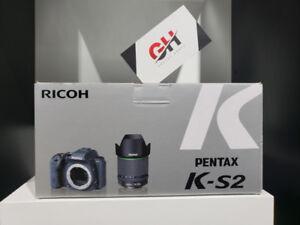 Store Sale - Pentax K-S2 DSLR Camera with 18-135mm Lens (Black)