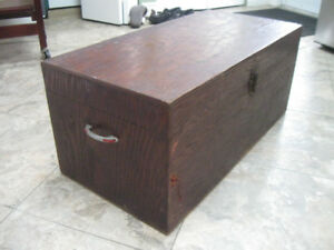 VERY OLD WOODEN BOX