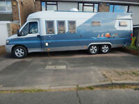 Hobby 750 4 Berth 2001 Fiat 2.8 Diesel Motorhome, Fixed Bed, Only 47k