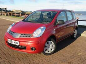 Nissan Note 1.4 Visia Low Miles 35k FSH by Nissan 1 Pr Owner MoT Nov 2017