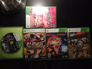 Borderlands 2, Battlefield 3, Catherine, Mortal Kombat, SSF4