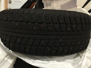 205 / 60 R16 4 WINTER STUDDED TIRES