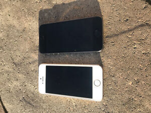 Mint Condition 2 iPhone 5s- White/Gold and Space Grey