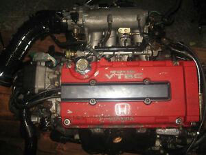 INTEGRA DC2 ITR B18C TYPE R SPEC R ENGINE LSD 5SPEED TRANS JDM