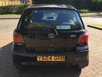 **PX BARGAIN REDUCED TO CLEAR**Toyota Yaris 1.3 16v VVTi GLS**GREAT FIRST CAR!**