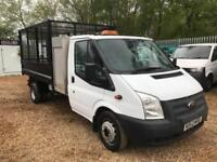 FORD TRANSIT 350 DRW TREE TIPPER White Manual Diesel, 2013 CAGED