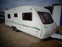 Bessacarr Cameo 625 GL 2005 4 Berth Fixed Bed Twin Axle Touring Caravan With AirCon For Sale Bristol