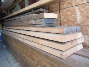 Planches antiques pour comptoir, table ou banc