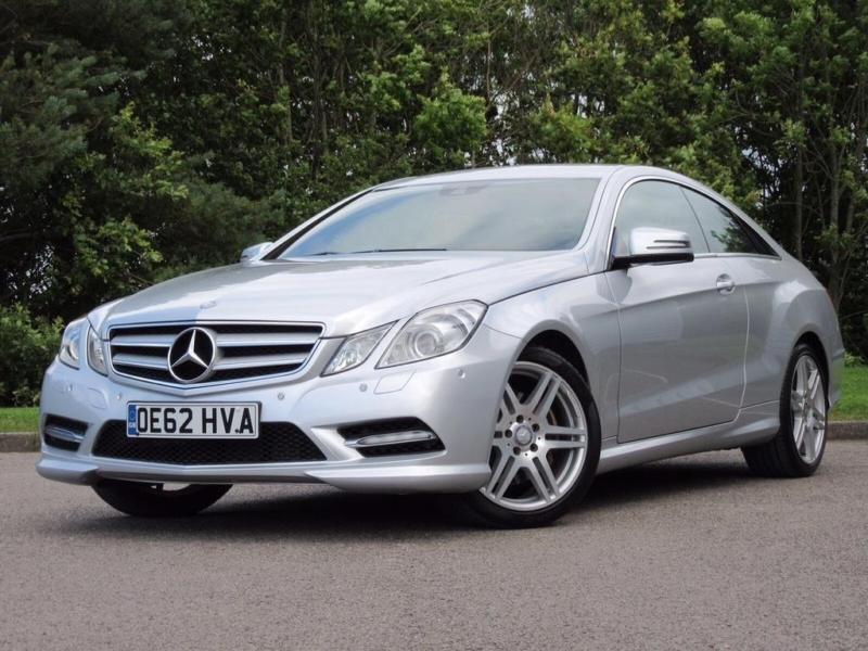 2013 Mercedes-Benz E Class 2.1 E220 CDI BlueEFFICIENCY Sport Coupe 2dr