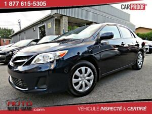 Toyota Corolla 4dr Sdn CE AIR SEULEMENT 58 000 KM  2013