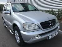 MERCEDES-BENZ ML270 CDI 2.7 (2005) AUTOMATIC + DIESEL + 7 SEATER