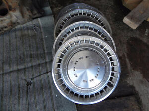 Vintage Dodge hubcaps for sale and 1 Plymouth Hubcap