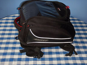 Tank Bag, magnetic, expandable