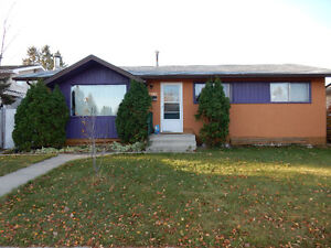 House near Southgate Harry Ainlay High School for rent.