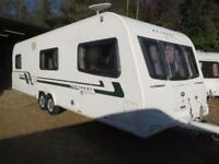 Bailey Retreat Sycamore 2012 6 Berth Fixed Bed Twin Axle Touring Caravan