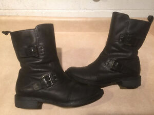 Women's Enzo Angiolini Leather Boots Size 8 London Ontario image 1