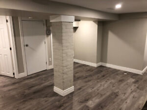 Beautifully Renovated Basement Bachelor Apartment for Rent ASAP